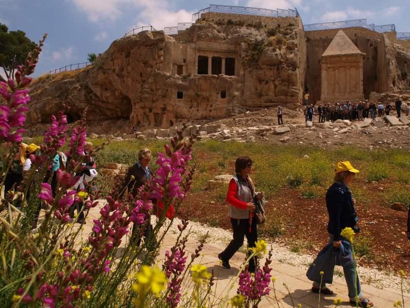 חג שמח. פסטיבל בעמק המלך|צילום: עיר דוד