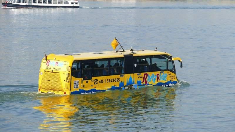 אטרקציות תיירותיות. אוטובוס ימי|צילום: pixabay.com