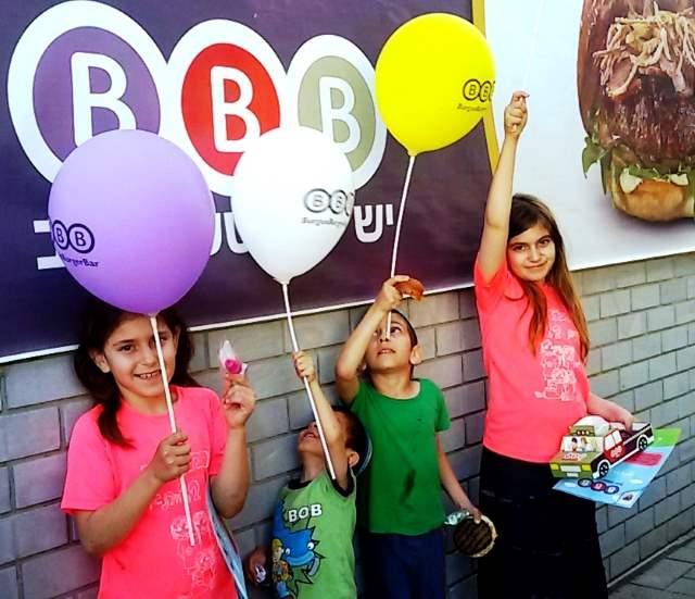 ידידותית גם לילדים. מסעדת BBB בקריית גת| צילום: נ. גולן