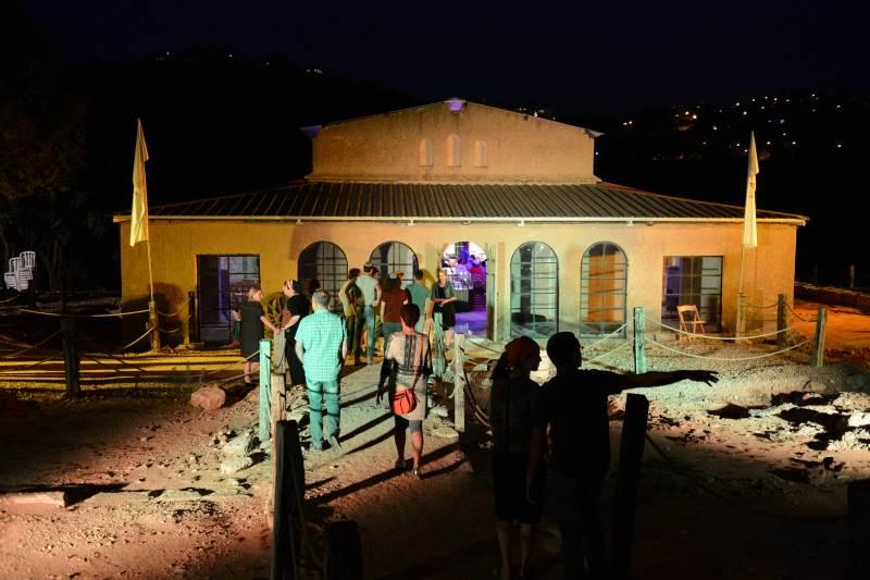 לצד מבקרים רבים שפקדו את המקום, הגיעו אליו אורחות מיוחדות. בתמונה: הבזיליקה בשילה הקדומה | צילום: שחר כהן