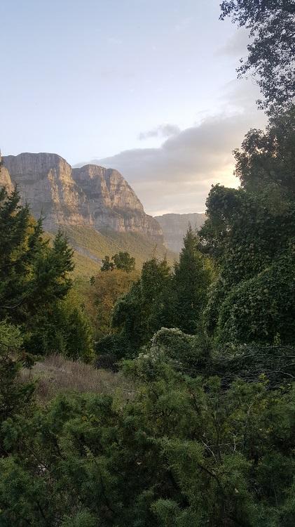 נוף הרי זגוריה בשקיעה | צילום יאיר בן דוד
