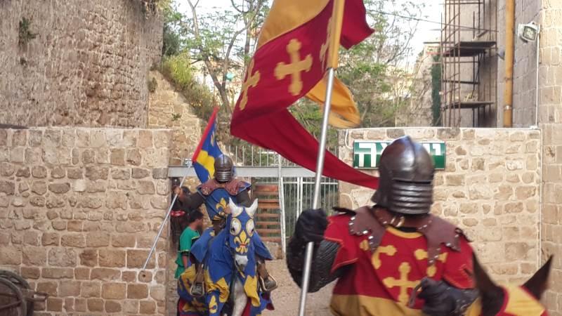 בגליל מתכוננים לכיבוש האזור על ידי אבירים